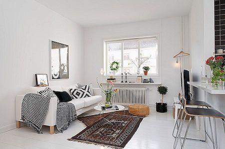 Gothenburgi peen külg: väike korter maitsekalt kujundatud