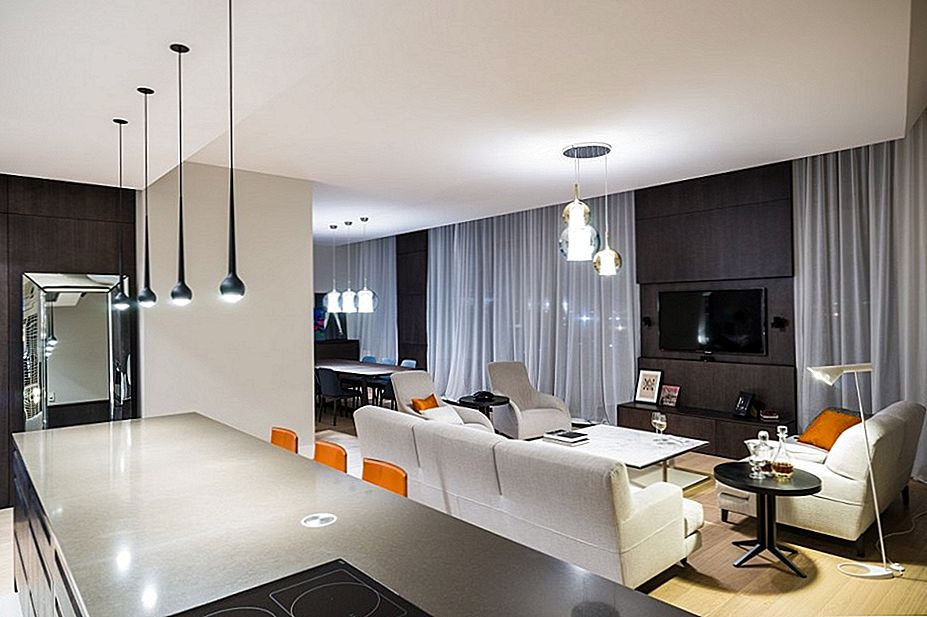 High-Tech i High-End apartman u Varšavi od strane Republike Architektury