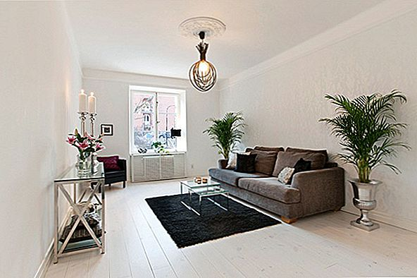 """Light and Airy"" Stokholmo apartamentai su tyliomis apylinkėmis"