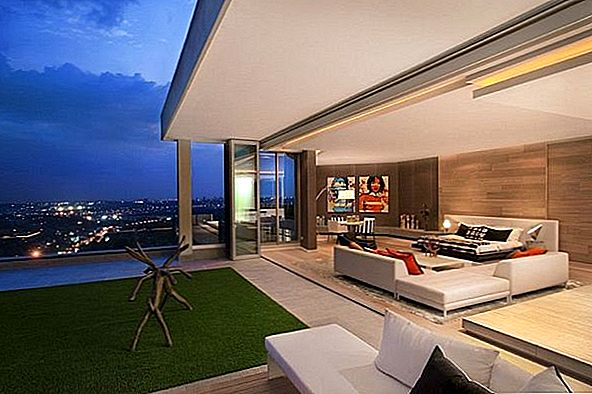 Luxe penthouse in Johannesburg