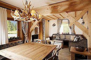 Rustic charm ja elegants Itaalia korteris Cortina d'Ampezzo