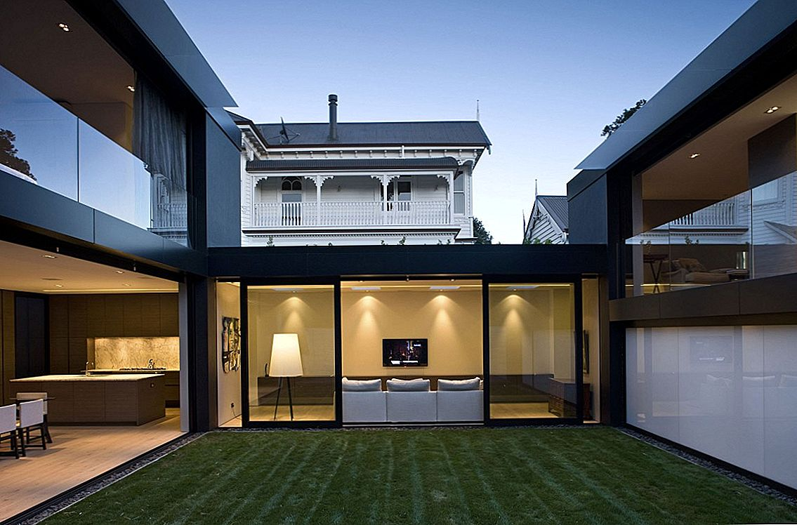 Dialogs starp vidēm: City House in Auckland by Architex