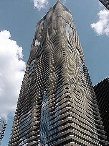 Aqua Tower, 250-meetrine vaguneva hoone Chicagos