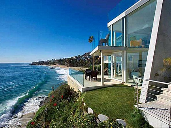 Bright Semi Transparent Laguna Beach Residence