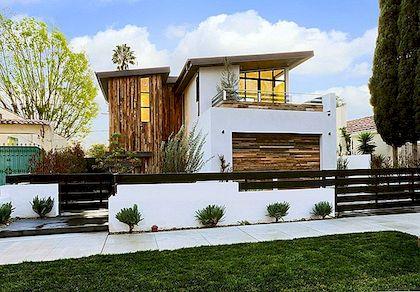 Klasikinės itališkos detalės Adorn 355 Mansfield Residence Los Andžele, Kalifornijoje