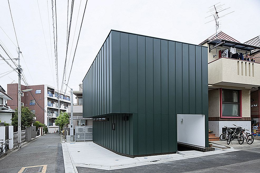 Compact Two-Story House Keeping The Noise Away in Tokio, Japan
