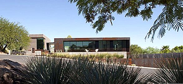 Suvremena Arizona Living: The Yerger Residence