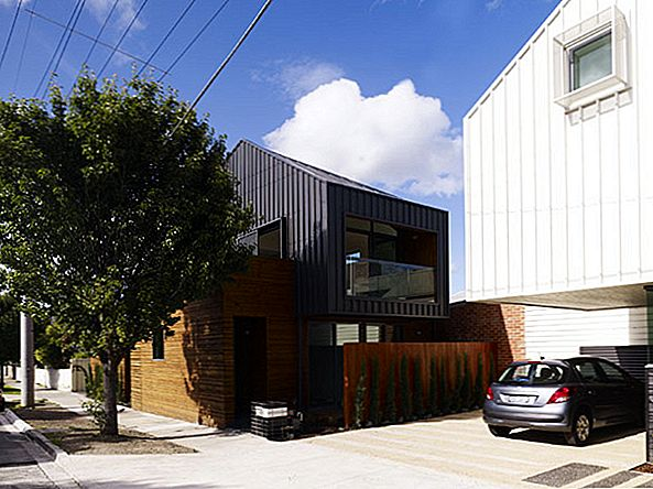 "Mūsdienu ""Cousin-Homes"" Melbourne ar dKO Architecture"