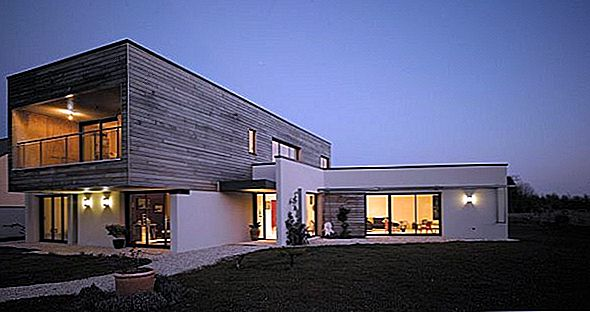 Contemporary Maison P + C Residence Indre, Prantsusmaa