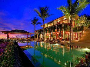Eksootiline kaasaegne Villa Tais, kust avaneb vaade Andamani merele