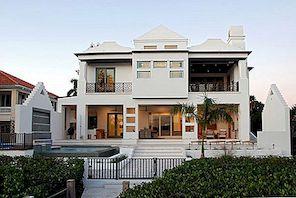 Extraordinärt miljövänligt hem med en charmig design