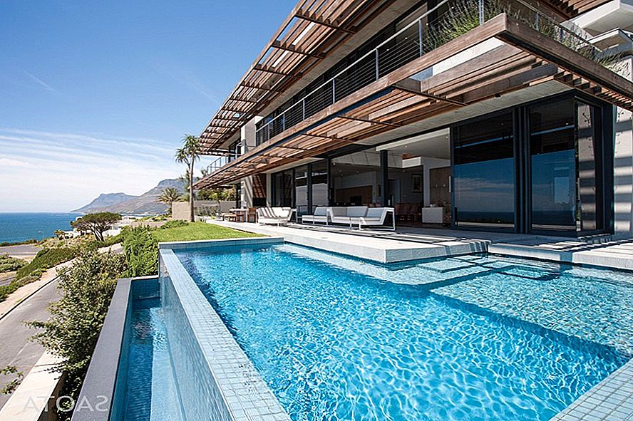 Extravagant Modern Living in Zuid-Afrika: SAOTA's Kloof 151-project