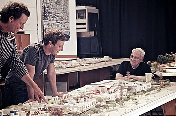 Facebook West, trụ sở mới của trường Frank Gehry