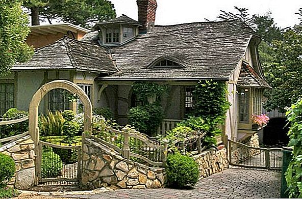 Fairy Carmel Cottage House In Californië