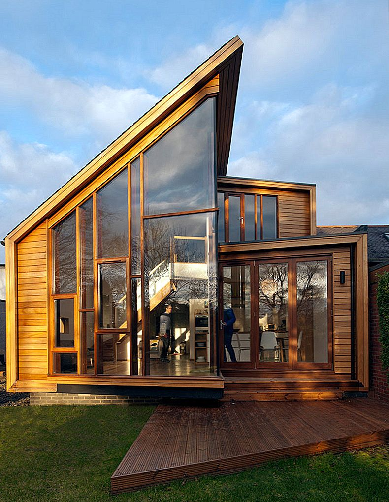 Family Home Extension in Edinburgh Features Klaasist seinad
