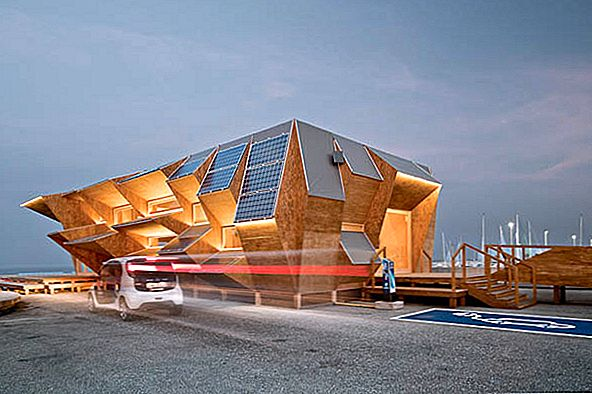 Genius Spanish Solar Pavilion Innovates Custom Prefabrication