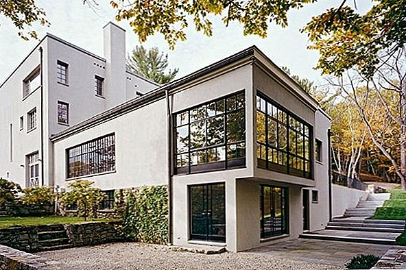 Hus i Connecticut Blending Tradisjon og Contemporary Design