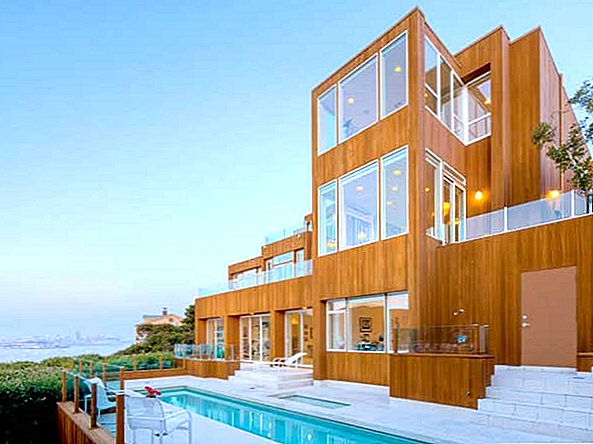 Indrukwekkende Bay Front Modern Living in Californië