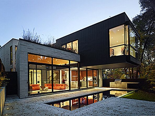 Infill Residential Project i Toronto: Cedarvale Ravine House