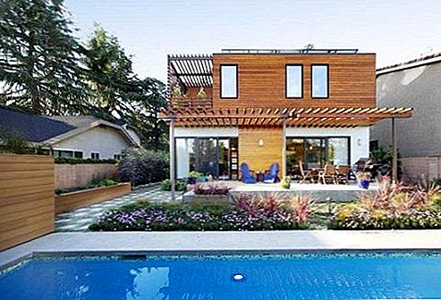 Jacobson Residence i Los Angeles Njut av Eco Buffs
