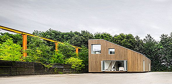 Minimalisme og Playfulness Definere Residence Made of Shipping Containere