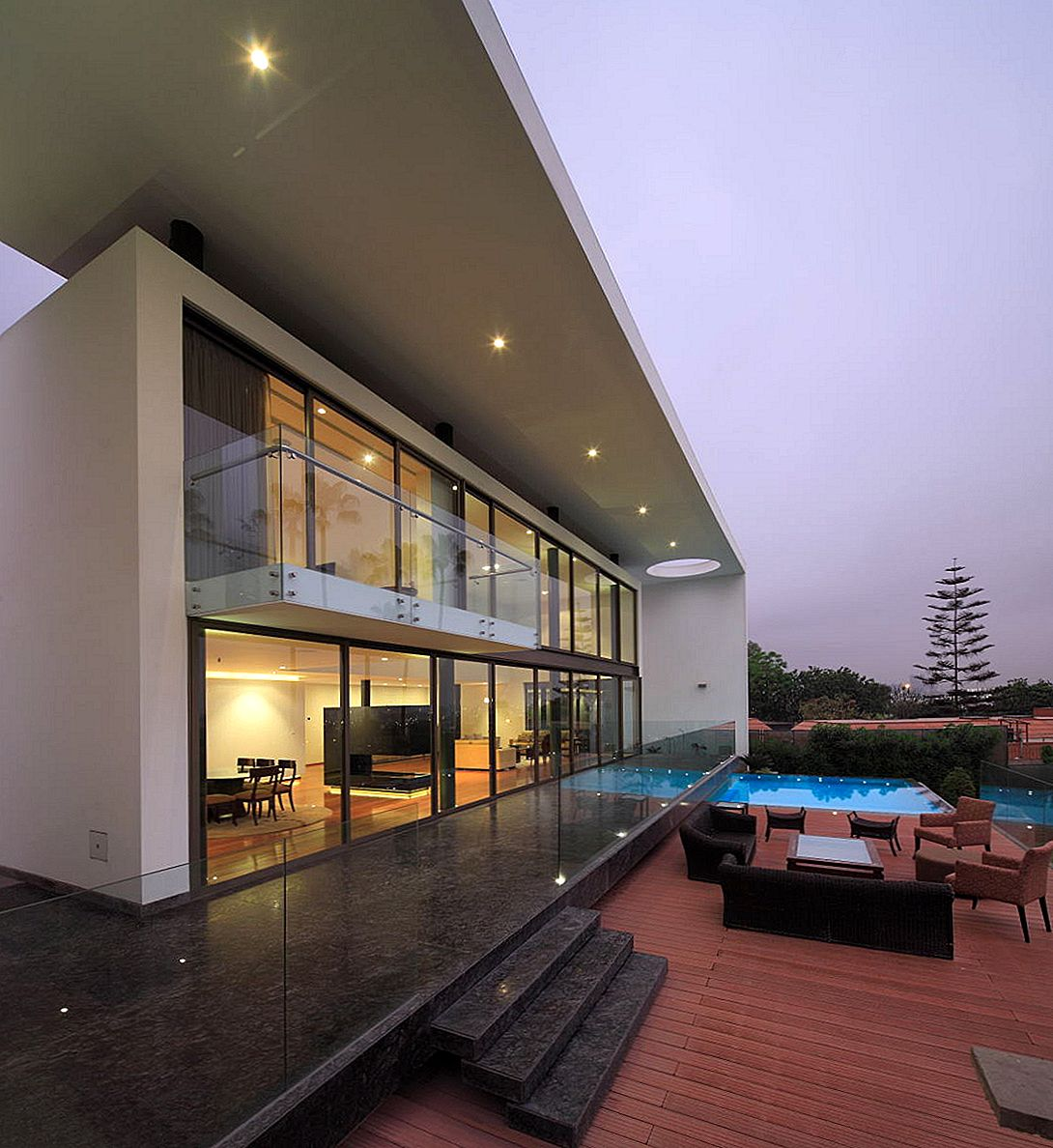 Modern City Escape: het opleggen van House on the Hill in Lima