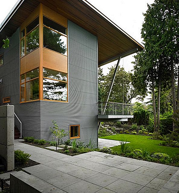Modern Nature Retreat Vaatega järvele Washington: Leschi Reisdence