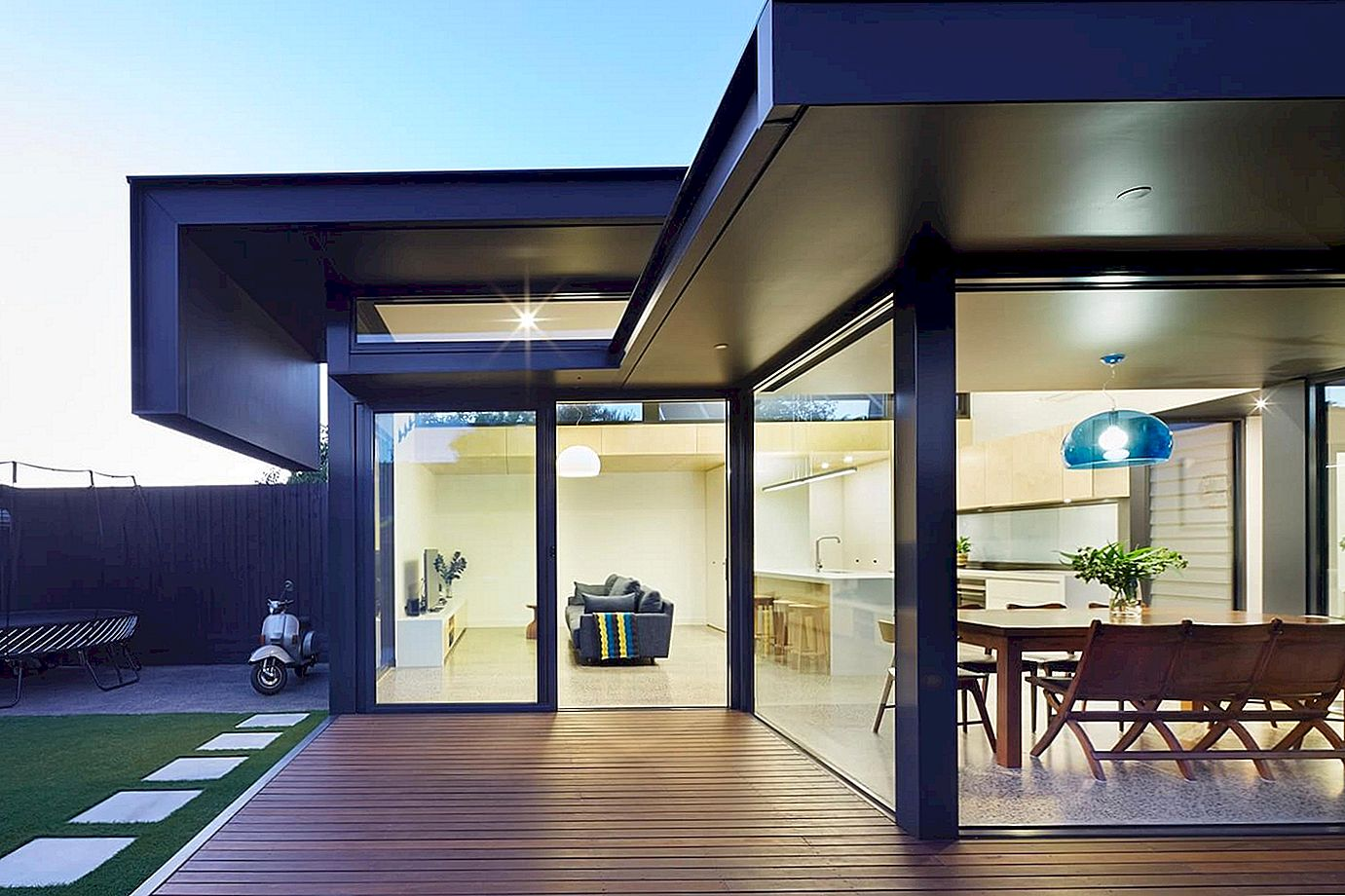 Modern Pod Complements Victorian Home