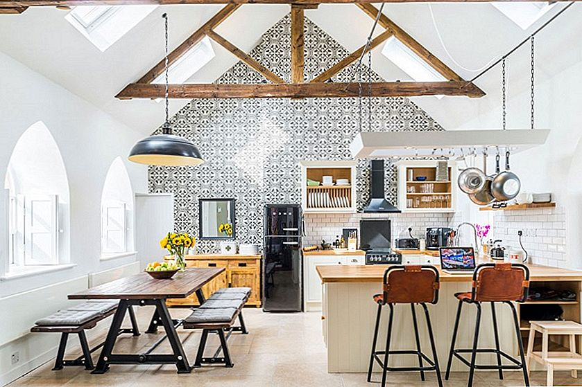 Old Stone Church i England Gets Heavenly New Interiors