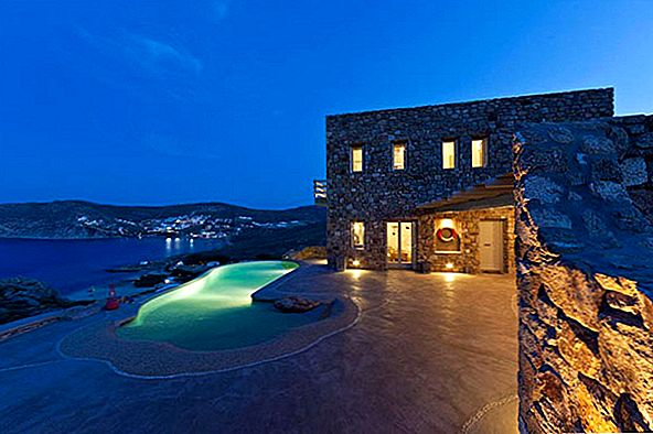 Rocky Architecture uppfyller Ultimate Holiday Thrills i Mykonos, Grekland