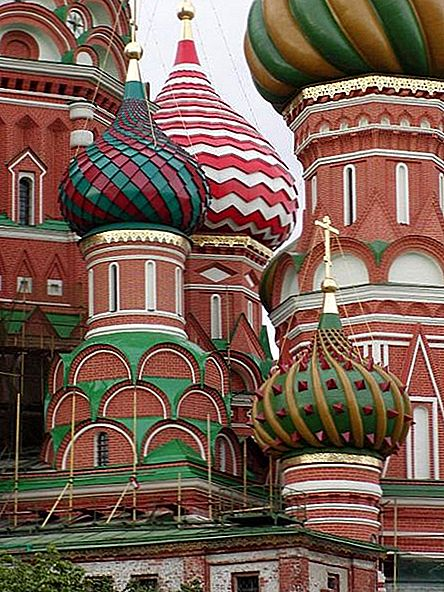 Saint Basil's Cathedral in Moskou