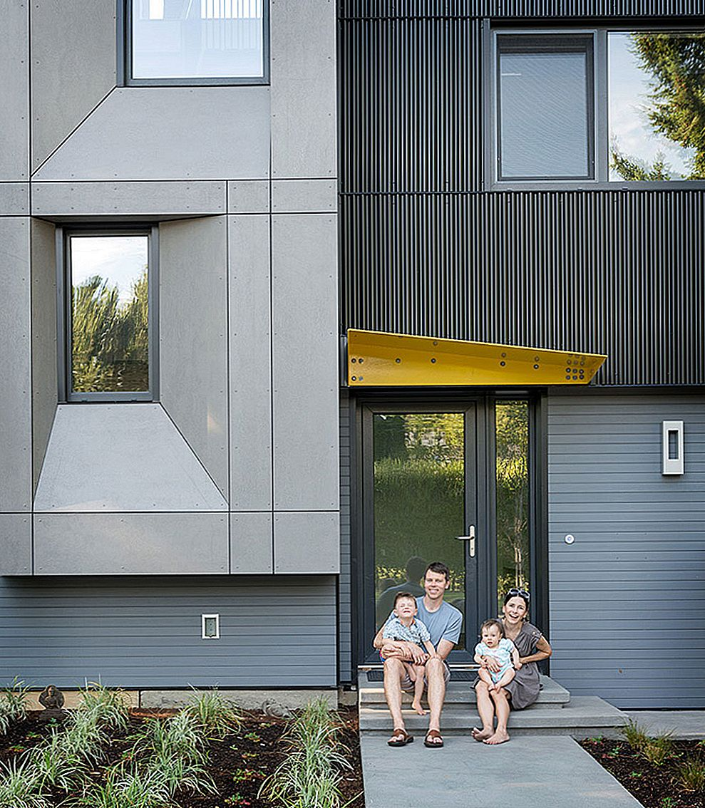 Seattle: s första certifierade passiva hus: Modern Family Home Marrying Luxury and Sustainability