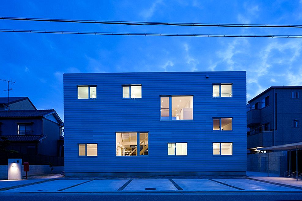 """Shared-housing"" projektas Japonijoje: ""LT Josai"" - ""Naruse Inokuma Architects"""