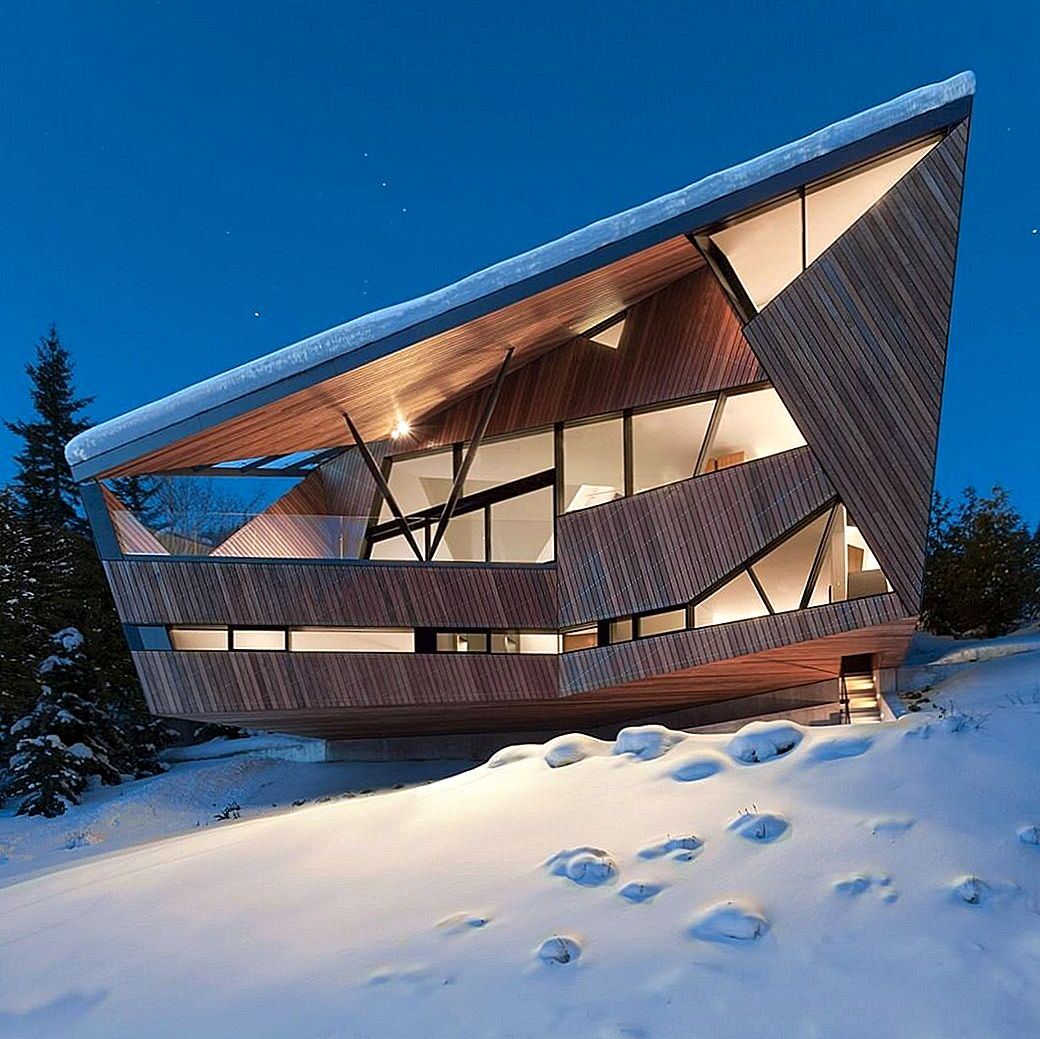 Snow Country Retreat Vaatega Whistleri orgale Kanadas: Hadaway maja