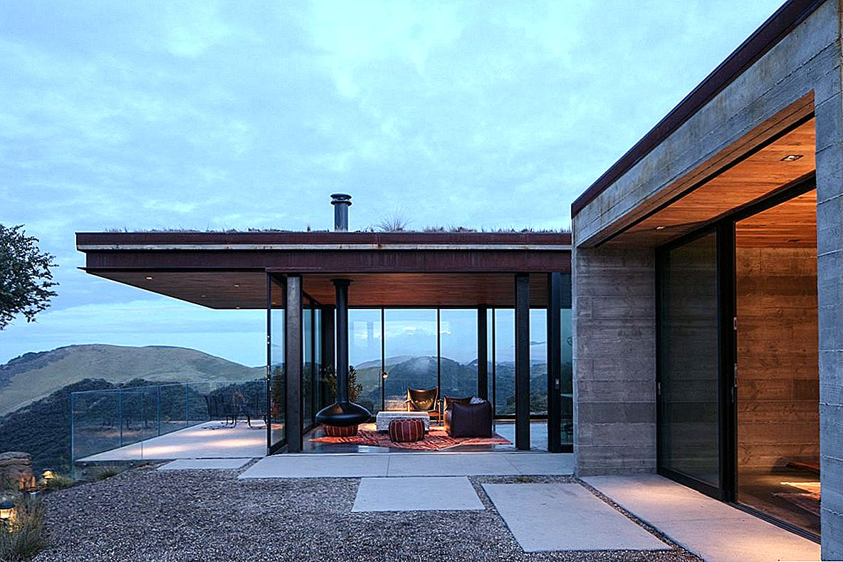 Spectacular Off-Grid House Cantilevers üle California Rocky Landscape
