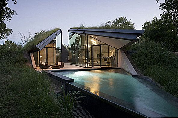 Eco-Friendly Home stiilne disain: The Edgeland Residence