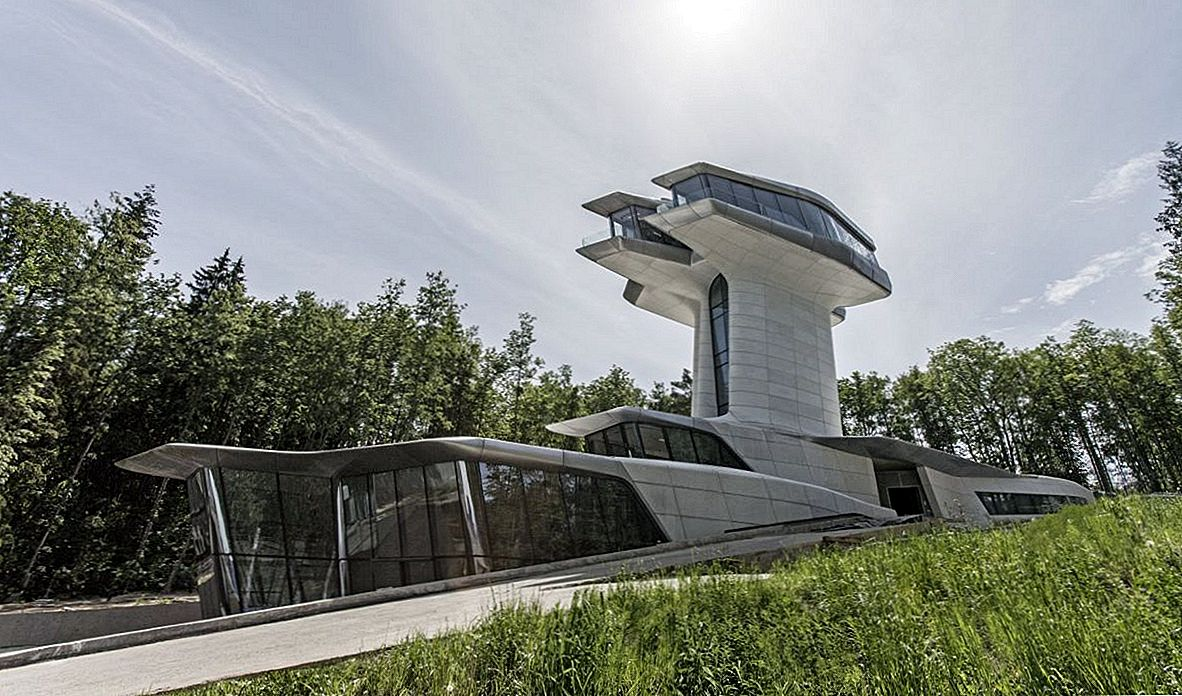 The Amazing Capital Hill Residence - Zaha Hadid'i ainus kodune projekt