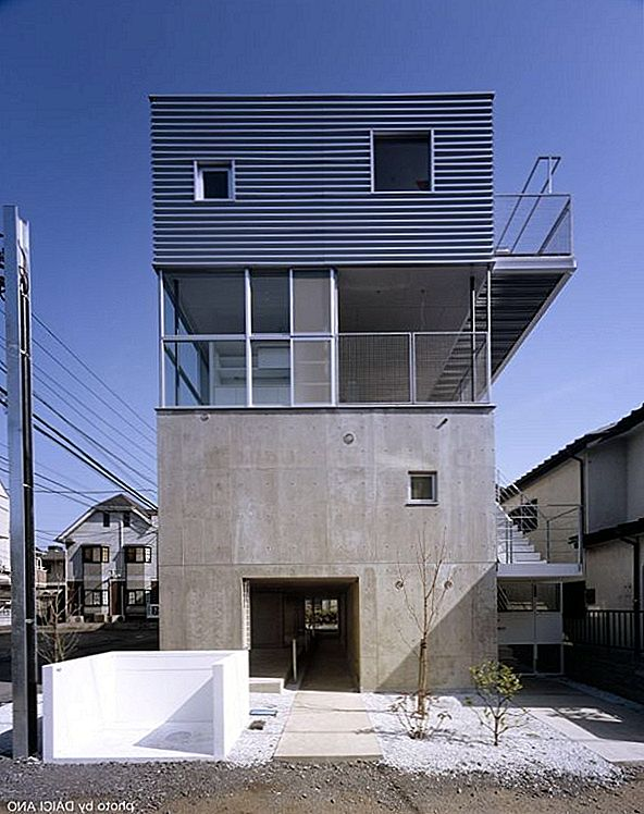 The Kobuchi Apartment, et prosjekt i Japan