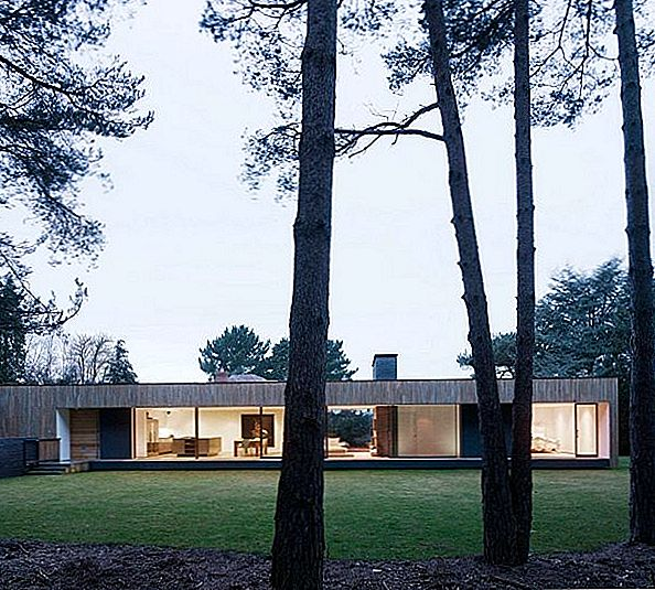 A Casa do Parque Nacional New Forest, de John Pardey Architects