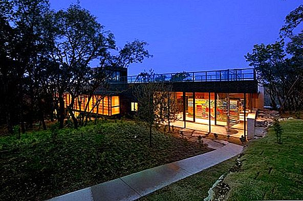 The Wimberley House por Cunningham Architects