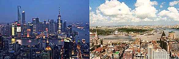 """Tada ir dabar"": ""Staggering 20 Year Transformation of Lujiazui District, Shanghai"""