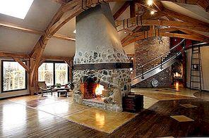 Ameerika Ühendriikides New Jersey kaasaegsete mugavustega kaetud puit-raamitud kodu