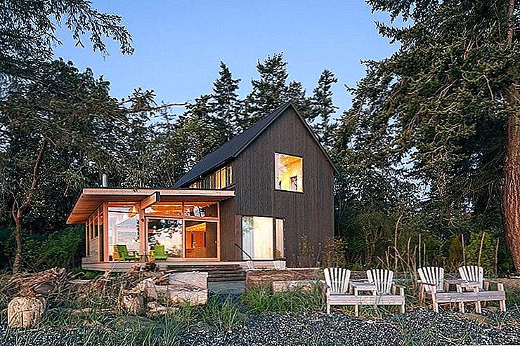 Washington, ABD'de Zamansız Mimari: Orcas Island Retreat