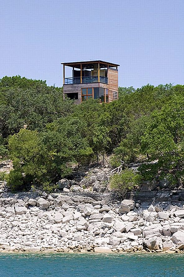 Tower House I Texas Av Andersson Wise Architects - Tower-house-in-texas-by-andersson-wise-architects