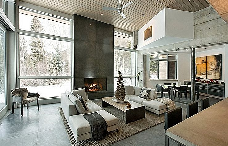 Onconventionele Concrete Holiday Retreat in de buurt van Aspen, Colorado