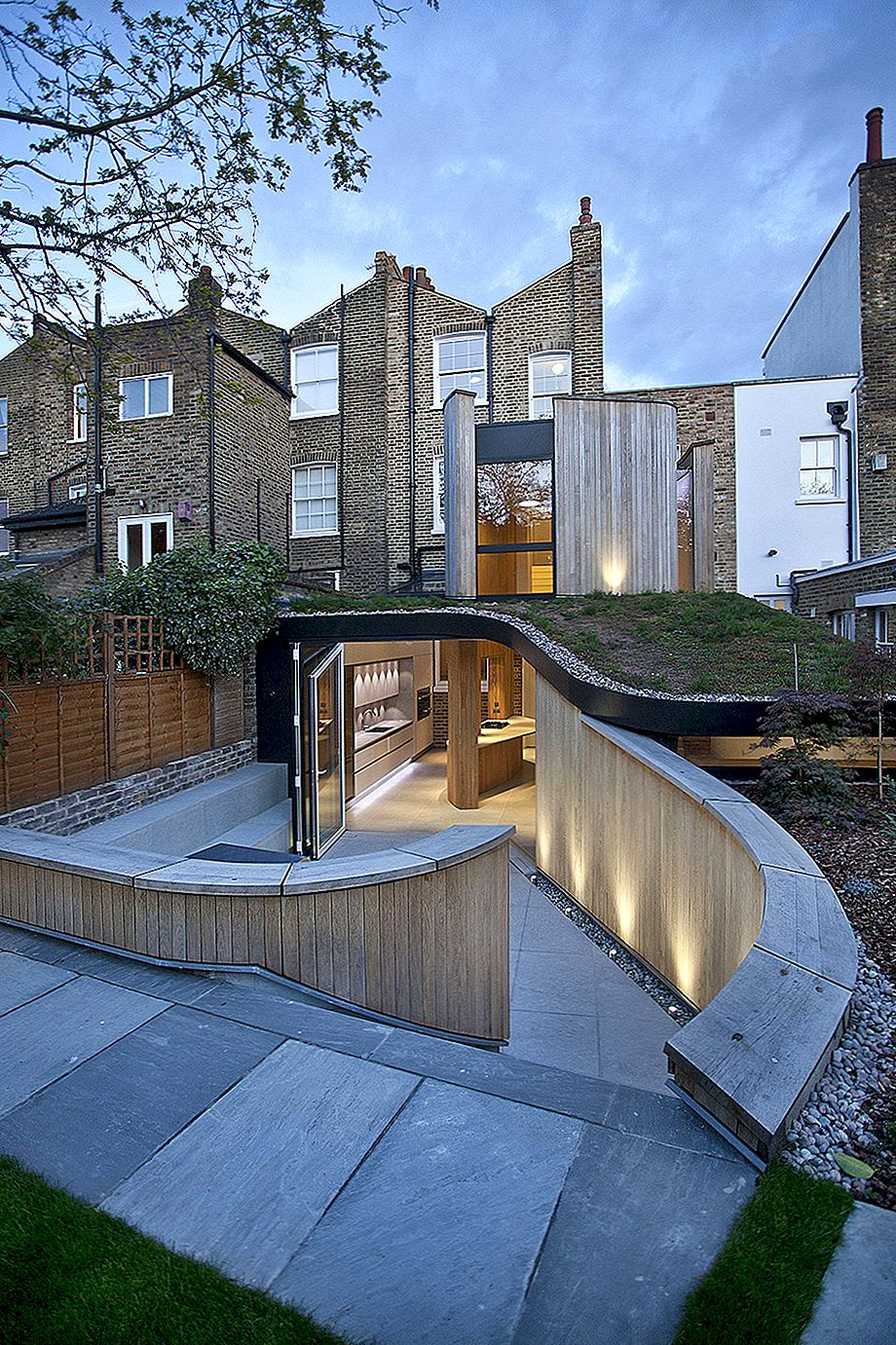 Victorian House i London vid Edge of Old and New