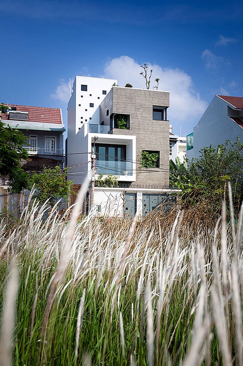 Vietnamese Home With Pockets of Greenery