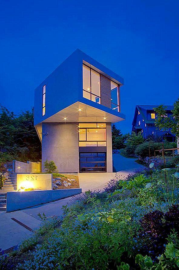 Levande arkitektoniska och designelement: Phinney Residence