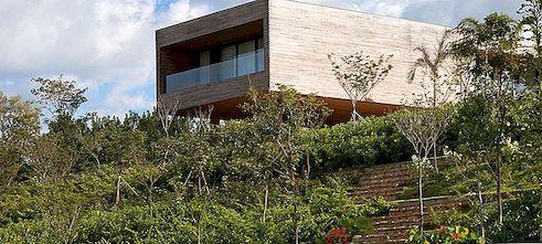 Volumetrisk Feriehus i Brasil av Bernardes + Jacobsen Arquitetura