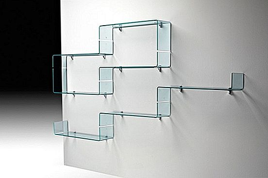 Luca Casini의 Babila Glass Shelves